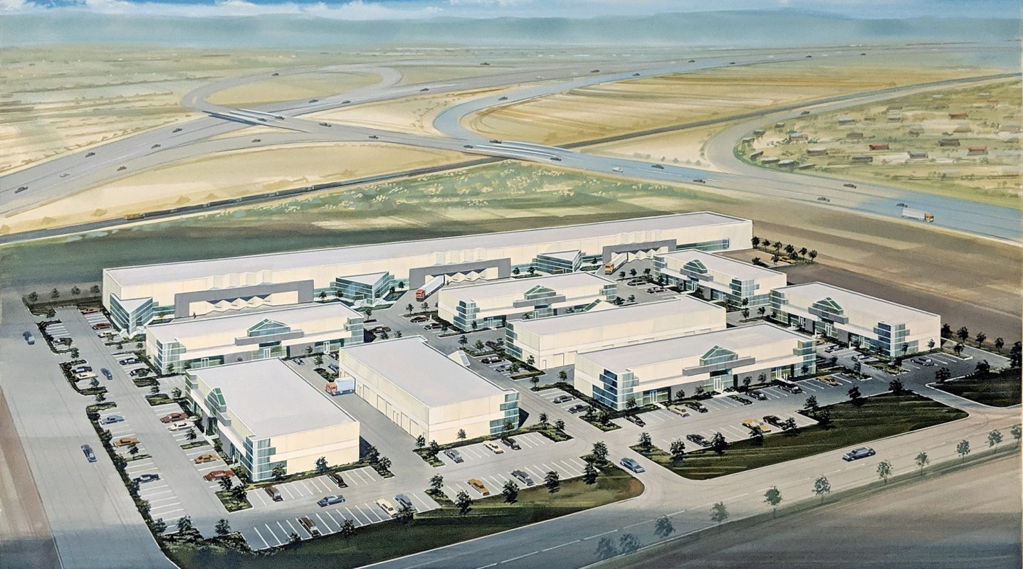 Keenan Commerce center Master Plan